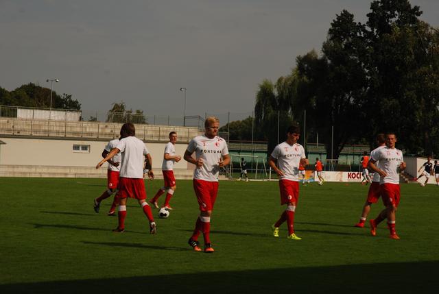 Slavia Praha vs České Budějovice (příprava, Písek)